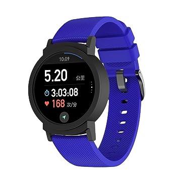 Ticwatch E Band, Zolimx Reemplazo de Banda de Silicona Correas Pulsera Brazalete para Ticwatch E Smartwatch