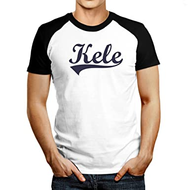 8f0f9700 Idakoos - - Male Names - Raglan T-Shirt XXXX-L: Amazon.co.uk: Clothing