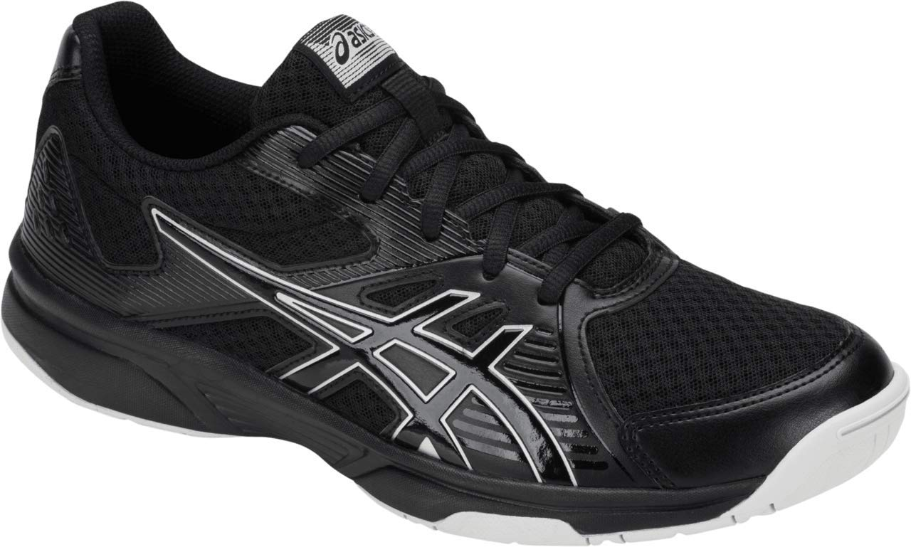 ASICS Upcourt 3 Men's Volleyball Shoes, Black/Black, 8 M US