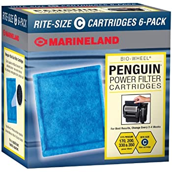 Marineland Rite-Size Cartridge C, 6-Pack