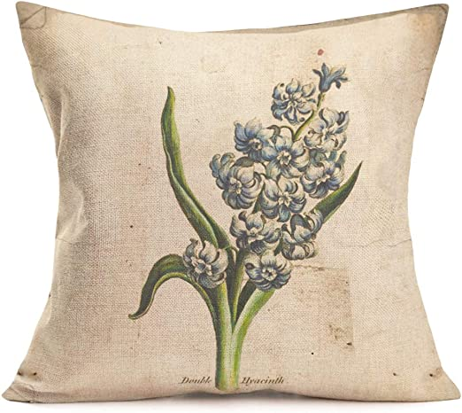 Pillow Cases Home Decor or Inner Lily of the Valley Flowers Cushion Covers