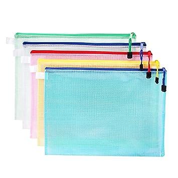 Bolsas De Archivo con Cremallera A4, Plástico con ...