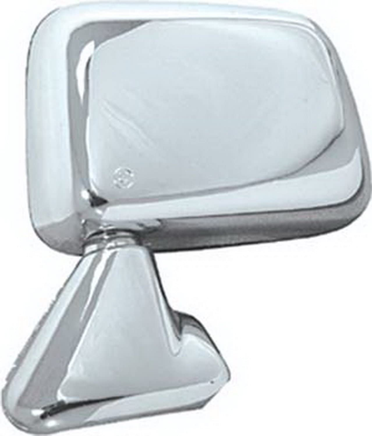 CIPA 17195 Toyota Pickup OE Style Chrome Manual Folding Replacement Driver Side Mirror