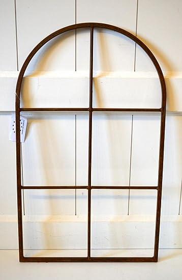 Fenster Fensterrahmen Rost Edelrost Metall Wanddeko Deko Garten Skulptur  Ca. 49cm Fensterdeko Tür Deko