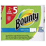 Bounty Select-A-Size Paper Towels, White, Huge Roll – 2 pk