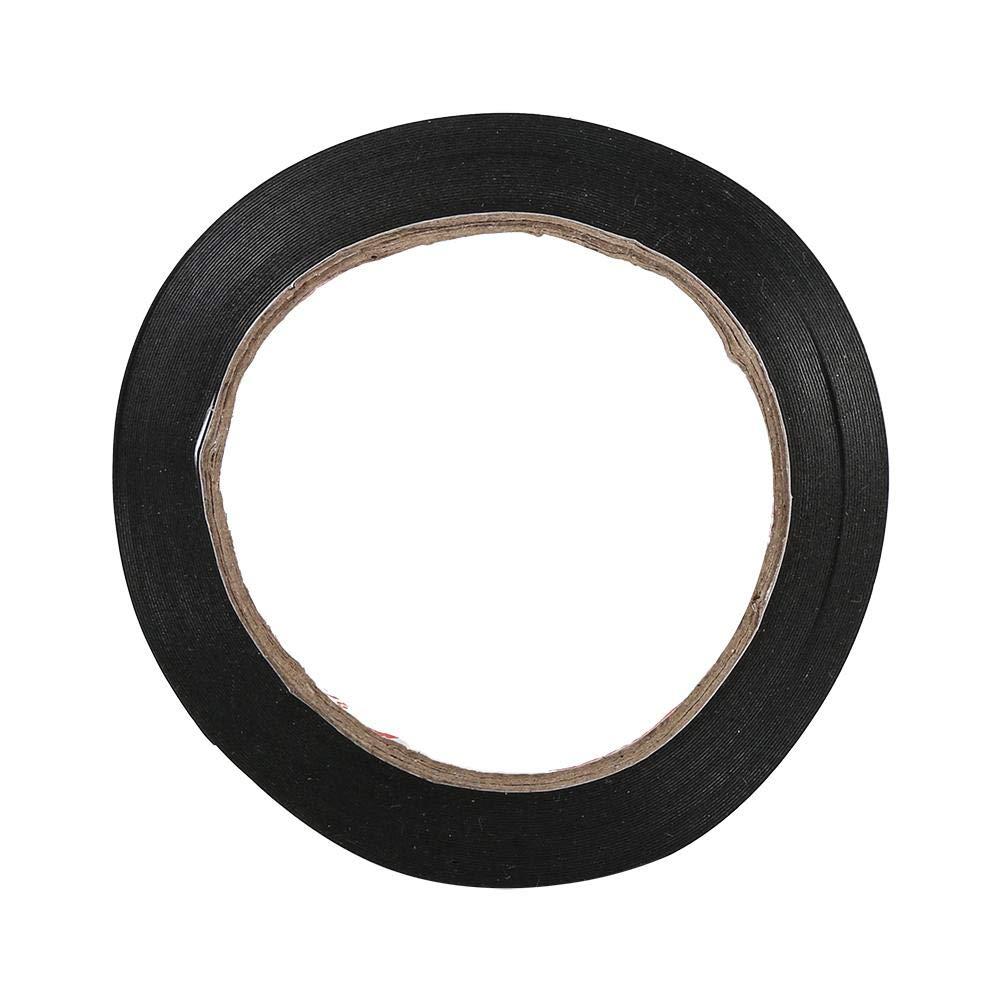 Colla a nastro adesivo nero super forte schiuma laterale per la riparazione di telefoni cellulari acqua e polvere di prova 10 m lunghezza 2 mm di larghezza