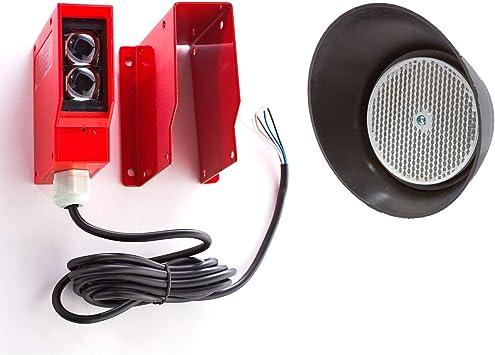 Gate Door Opener Retro Reflective Photocell Photoelectric Sensor Beam Reflector