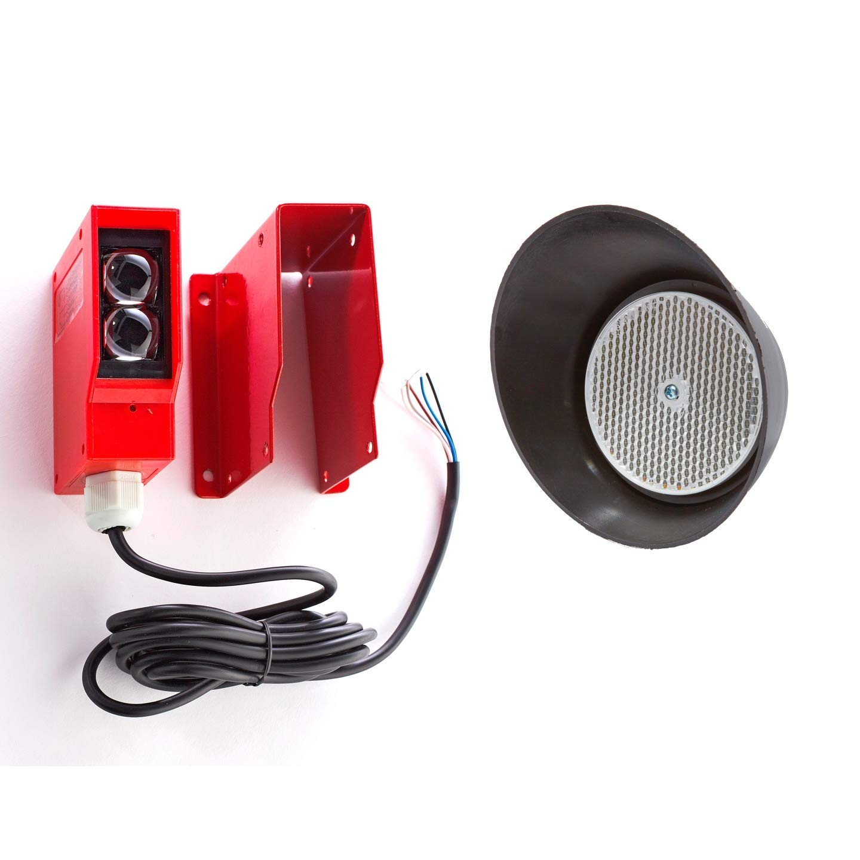 AB GATE Opener Safety REVERSING | Reflective Sensor | Photo Beam | Infrared Sensor | Reflector Photo Eye | with German Reflector