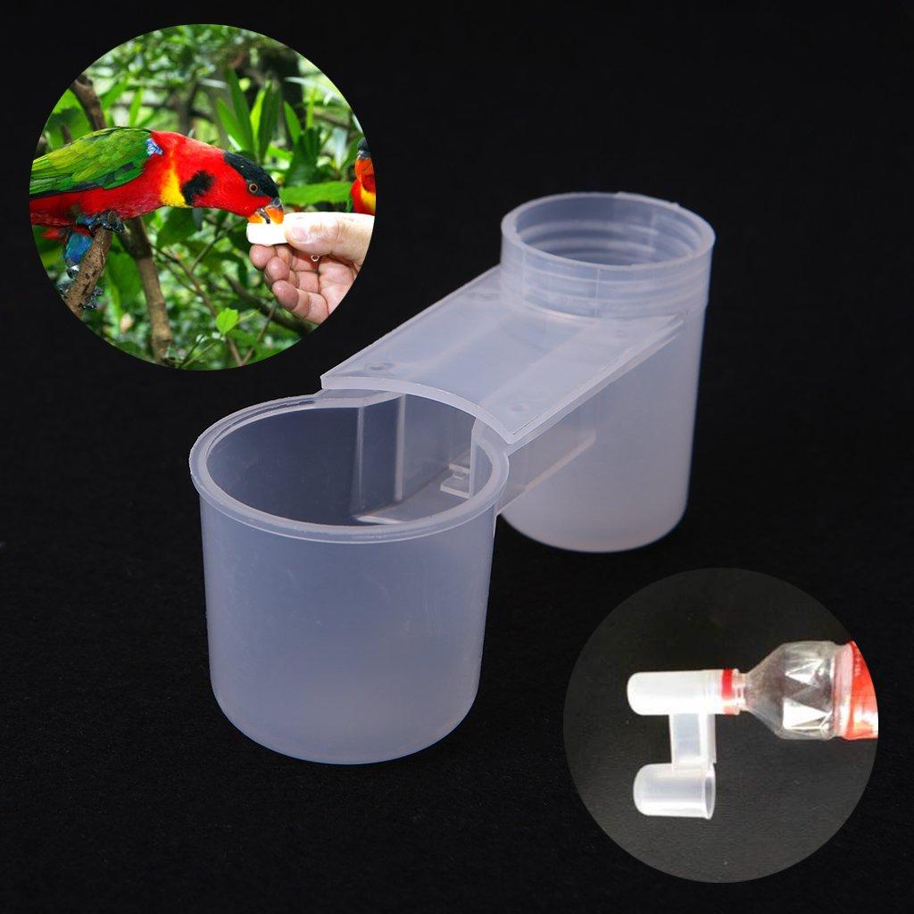 Girasool - 5 Vasos de plá stico para Bebidas, para pá jaros y pá jaros, para gallinas, Jardines, 10,8 cm para pájaros y pájaros