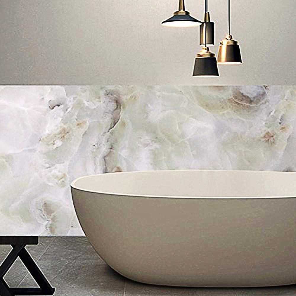 Bathtub wall marble design 100% waterproof contact paper mural