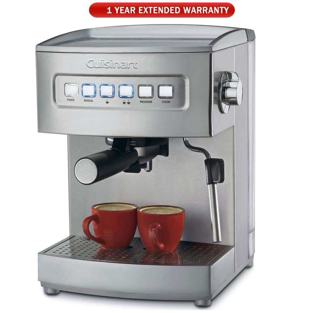 Cuisinart EM-200 Programmable Espresso Maker with 1 Year Extended Warranty