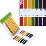 80 Full Range 1-14 pH Test Paper Strips Water Litmus Testing Kits