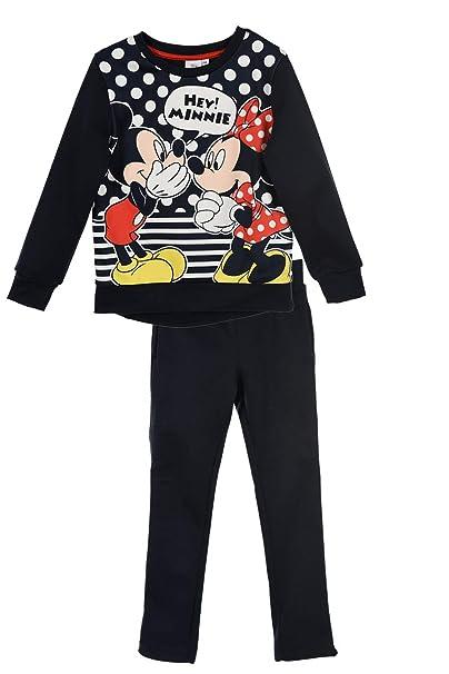 af73aca3c Disney Minnie Mouse Girls Chrildrens Hey Tracksuit Set: Amazon.co.uk:  Clothing