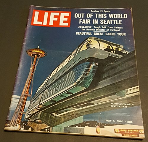 Original Life Magazine from May 4, 1962 - Seattle's fair opens
