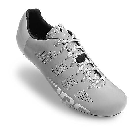 Giro Empire Road, Zapatos de Ciclismo de Carretera para Hombre, (Silver Reflective 000
