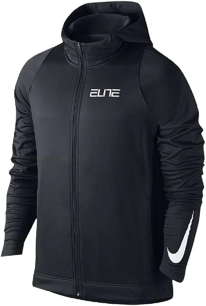 men's nike elite stripe hoodie