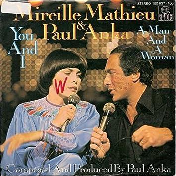 Mireille Mathieu & Paul Anka - You And I - Ariola - 100 637 ...