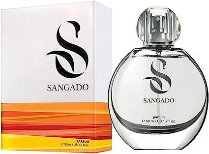 SANGADO Lila Perfume para Mujeres, Larga Duración de 8 10 horas, Olor Lujoso, Floral, Francesas Finas, Extra Concentrado (Parfum), Spray de 50 ml,