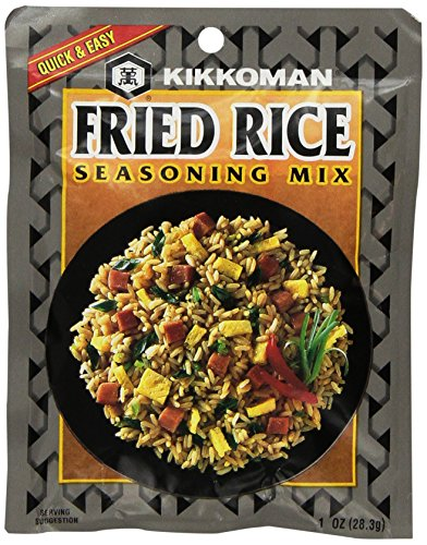 (Kikkoman Fried Rice Seasoning Mix (1 oz Packets) 4 Pack )