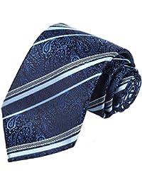 Mens Necktie Paisley Tie + Gift Box