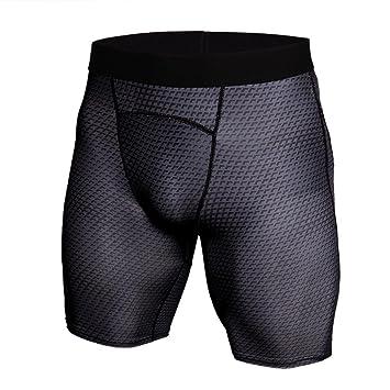 Hommes Sport Formation Musculation Shorts d été d entraînement Fitness Gym  Pantalons Courts - 0940f559431