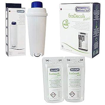 DeLonghi Eco Decalk - Descalcificador para máquina de café (incluye filtro de agua): Amazon.es: Hogar