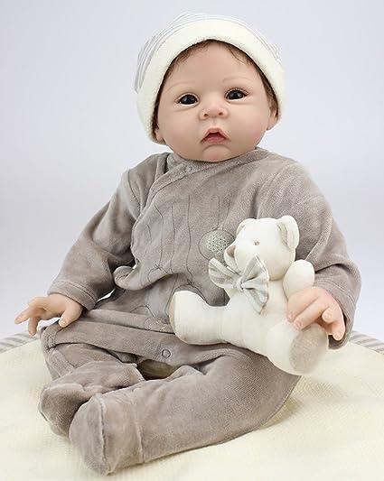 Amazon.com  Evursua Reborn Baby Boy Doll That Looks Real 6d971b10e9