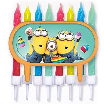 Minions - Decoración para tartas/Cupcake - con multicolores ...