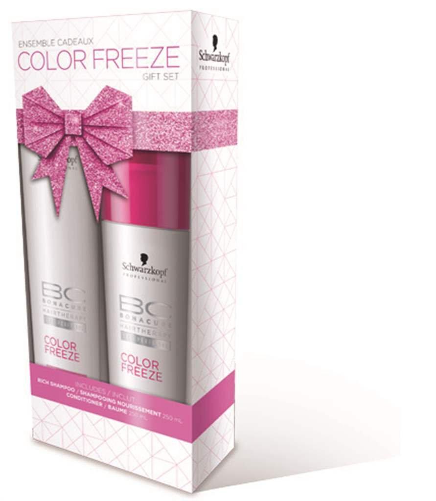 BC Bonacure COLOR FREEZE Sulfate-Free Shampoo and Conditioner Set, 33.81-Ounce Geneva Supply - HPC 2065713-1940917