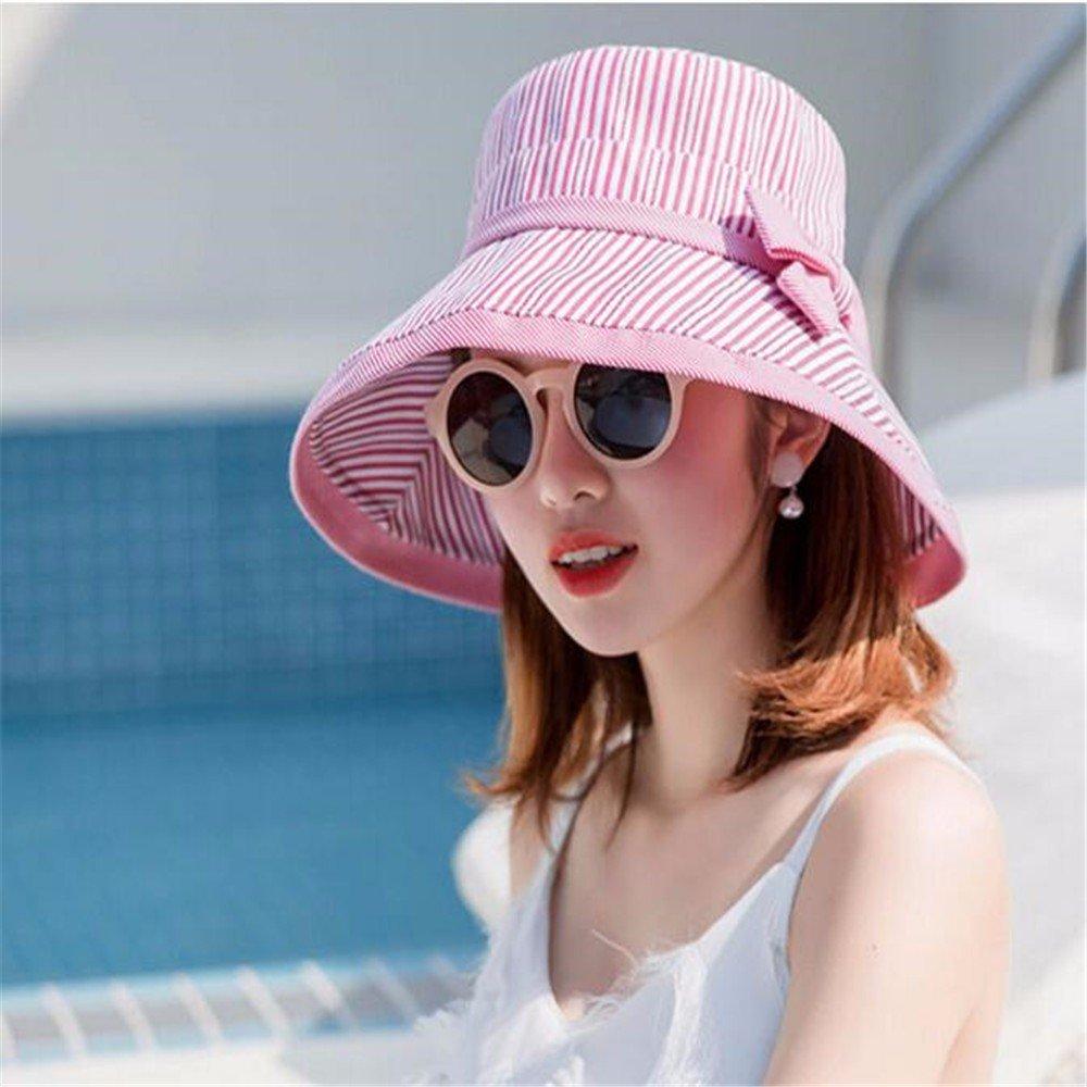 GAOQIANGFENG Outdoor Anti Ultraviolet Sun Verano Shading Cap for Women's Verano Sun Fashion,Gules 2d81ee