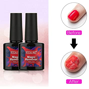 Dkings 2pcs Burst Magic Removedor De Esmalte De Uñas Quitar