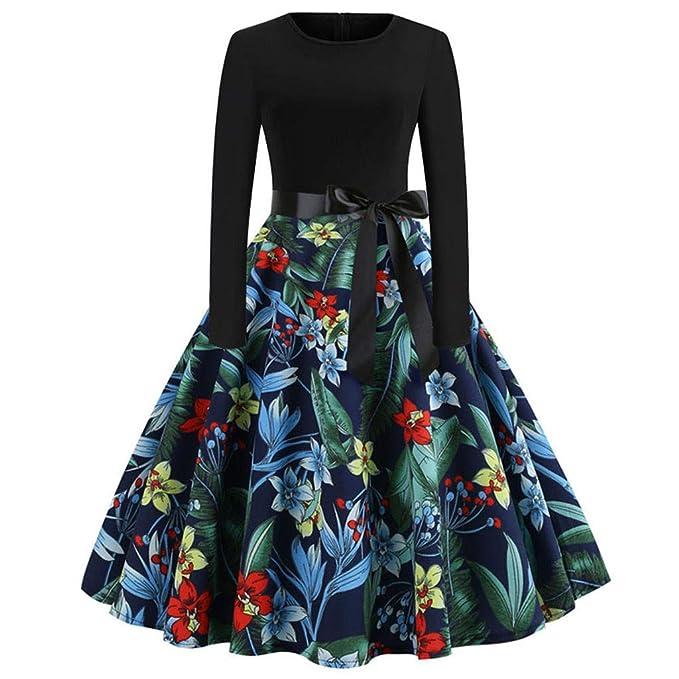 Vestidos Vintage de Fiesta Mujer 39ad11dc8262