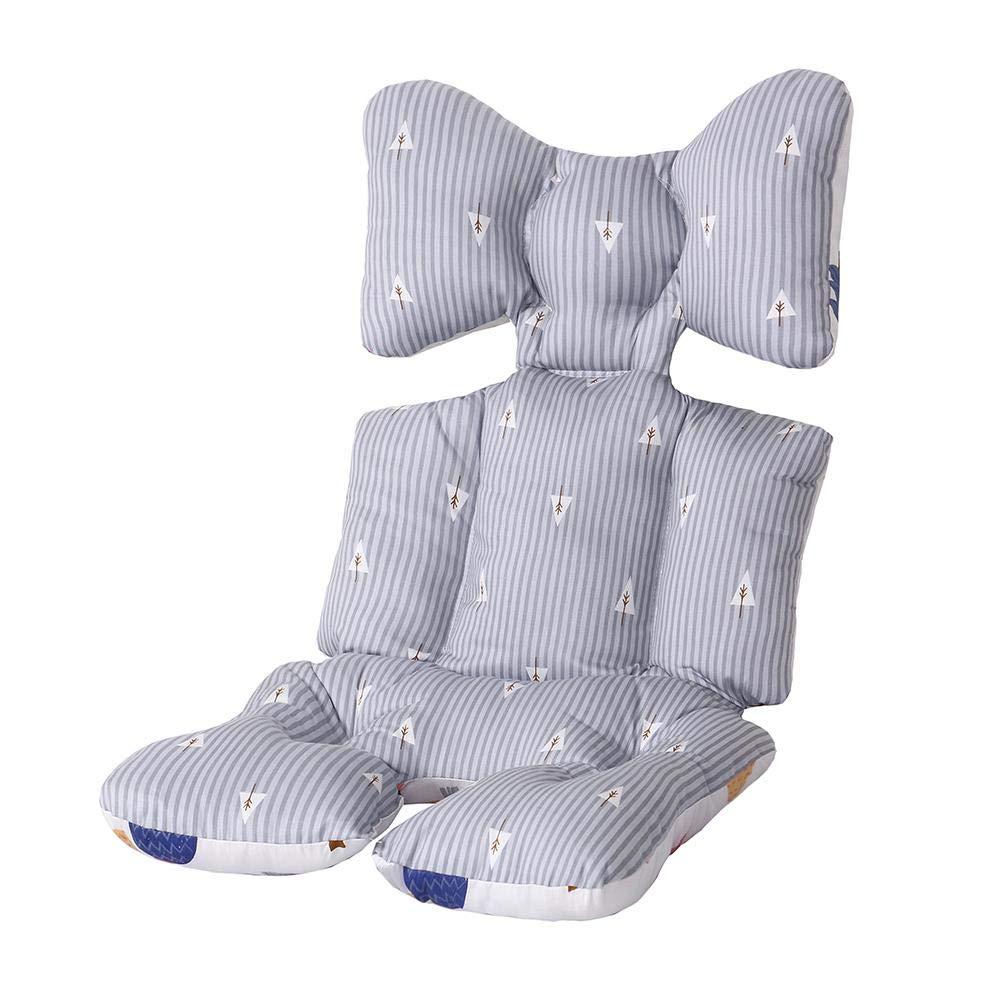 Passeggino mat cotone autunno e inverno per bambini sedia da pranzo caldo cuscino tipo cuscino universale