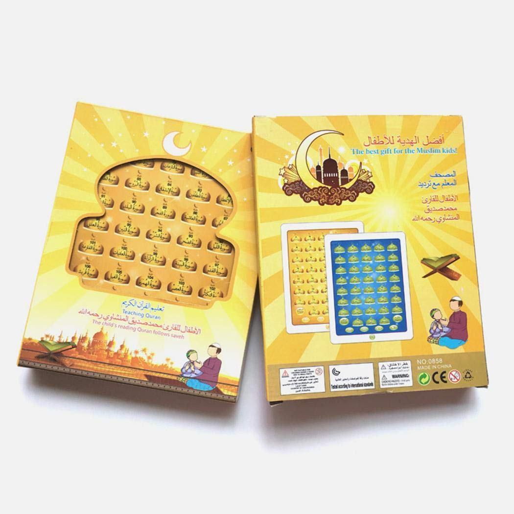 Ladiy E-Book Arabic Learning Tablet Electronic Reading Machine Toy for Kids Electronic Systems by Ladiy (Image #3)