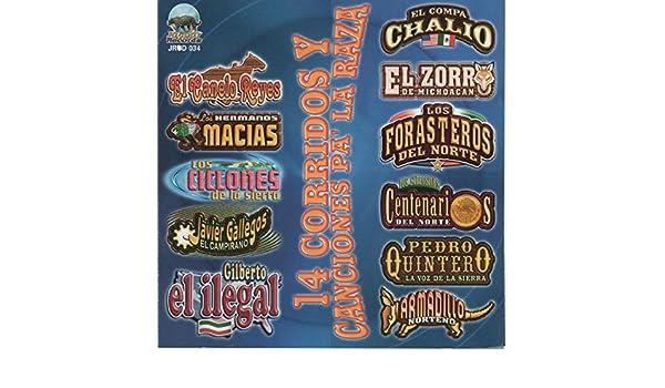 14 Corridos y Canciones Pa la Raza by Various artists on Amazon Music - Amazon.com