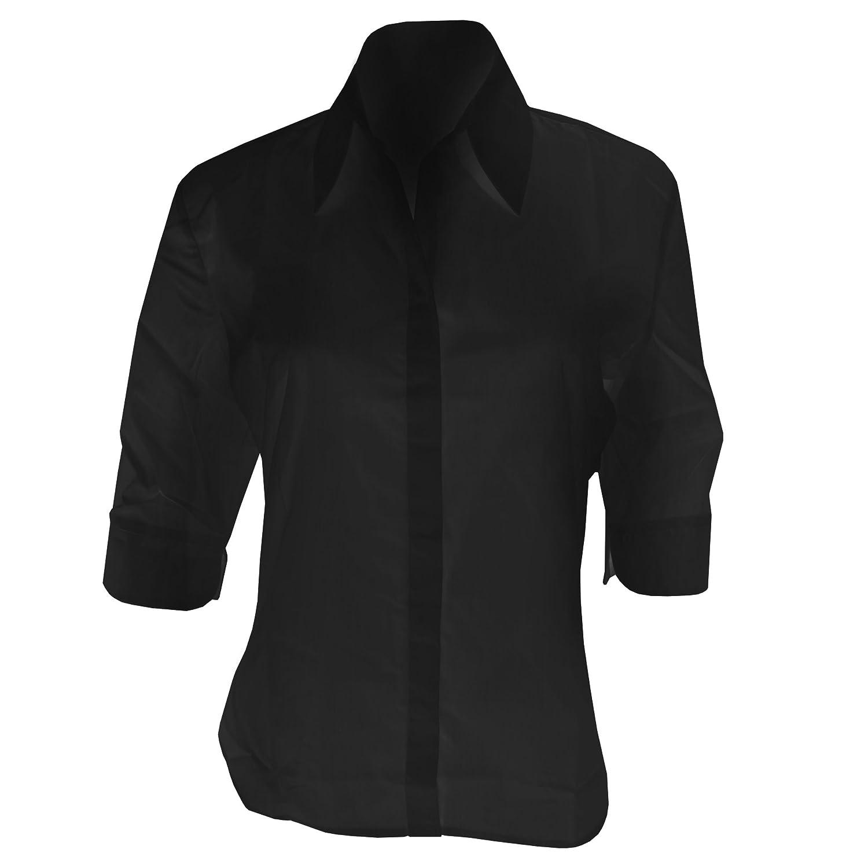 KUSTOM KIT Ladies Continental 3//4 Length Sleeve Blouse