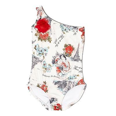 Aria Jane Girls One Shoulder Swimming Suit