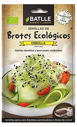 Semillas Ecológicas Brotes - Brotes ecológicos de Cebolla - Batlle: Amazon.es: Jardín