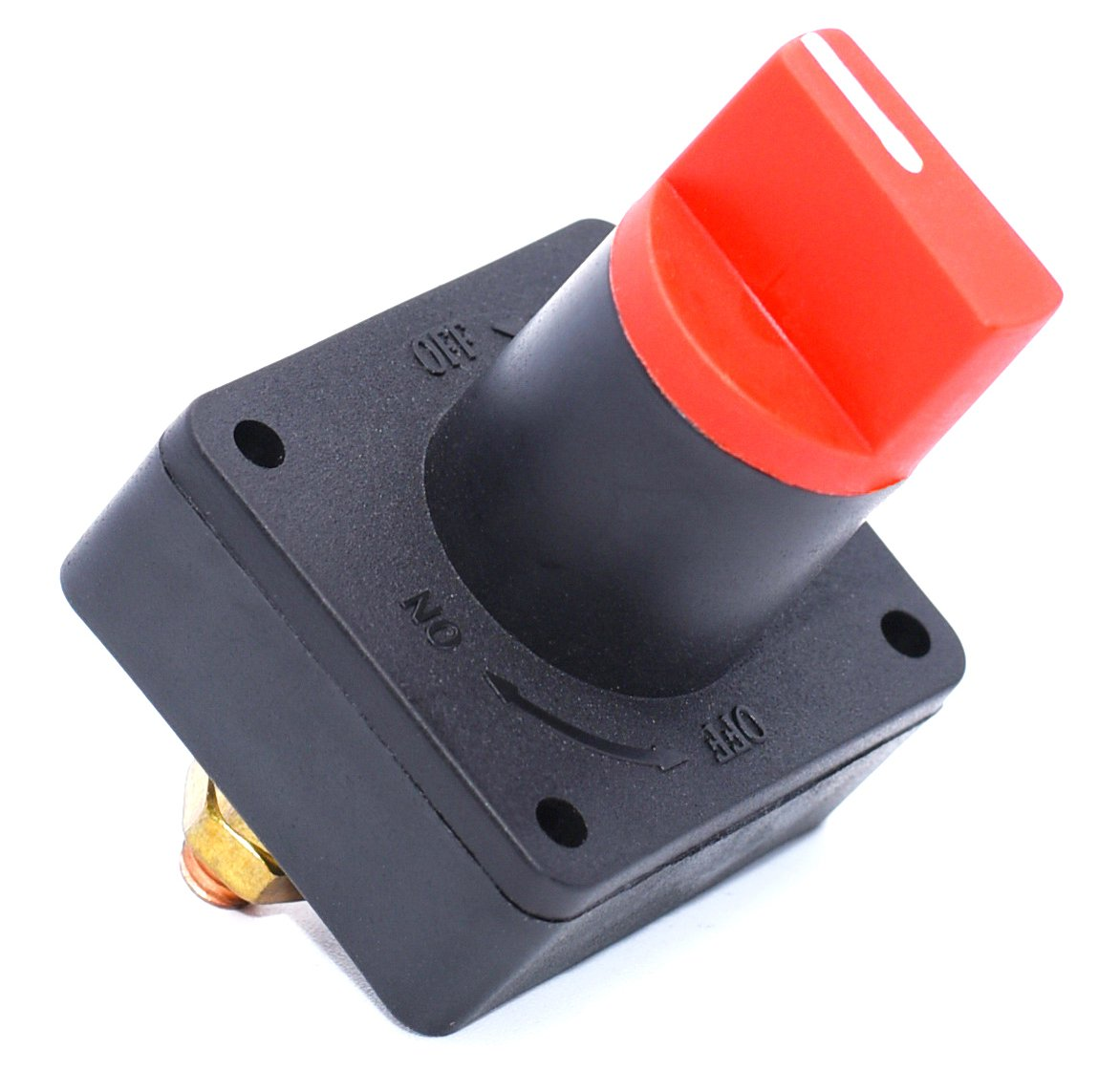 Cllena Rotary Battery Disconnect Isolator Power Kill Cut OFF Switch 300A for Car Boat Marine Van Truck Rv Caravan