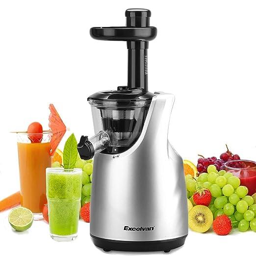 Excelvan Licuadora para Frutas y Verduras, 150W DC Motor ...