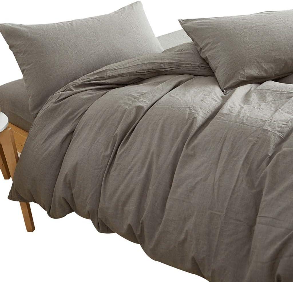BestBed 寝具の綿4個の完全なベッドセットはX1の掛け布団カバーX2ピローケースとX1フィットシート1.5m / 1.8m / 2.0mを含む QFLY (Size : 1.8 m (6 feet))