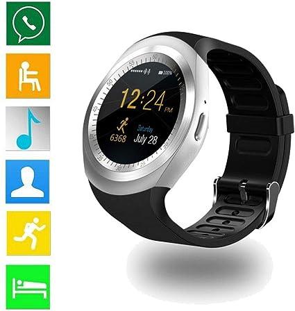 Amazon.com: Loveje Smartwatch pantalla táctil con cámara ...