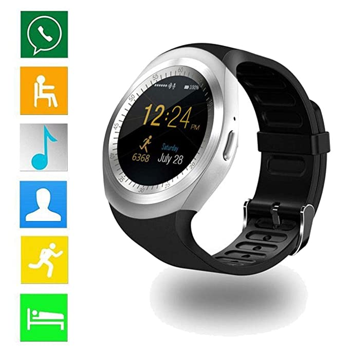 Loveje Smartwatch Pantalla táctil con cámara impermeable a ...
