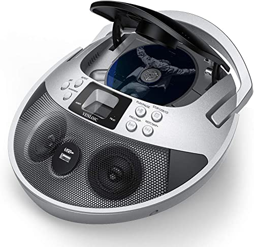 VENLOIC CD Player Boombox review
