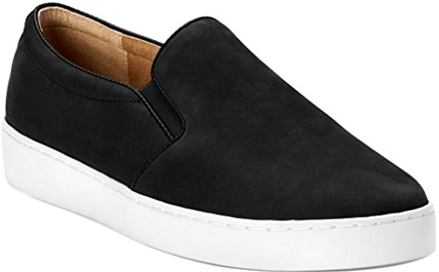 Vionic Women's Midi Slip-On Sneaker Black 9 / M & Travel Sunscreen Spray Bundle