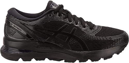 ASICS Gel-Nimbus 21 - Zapatillas de correr para mujer, Negro ...