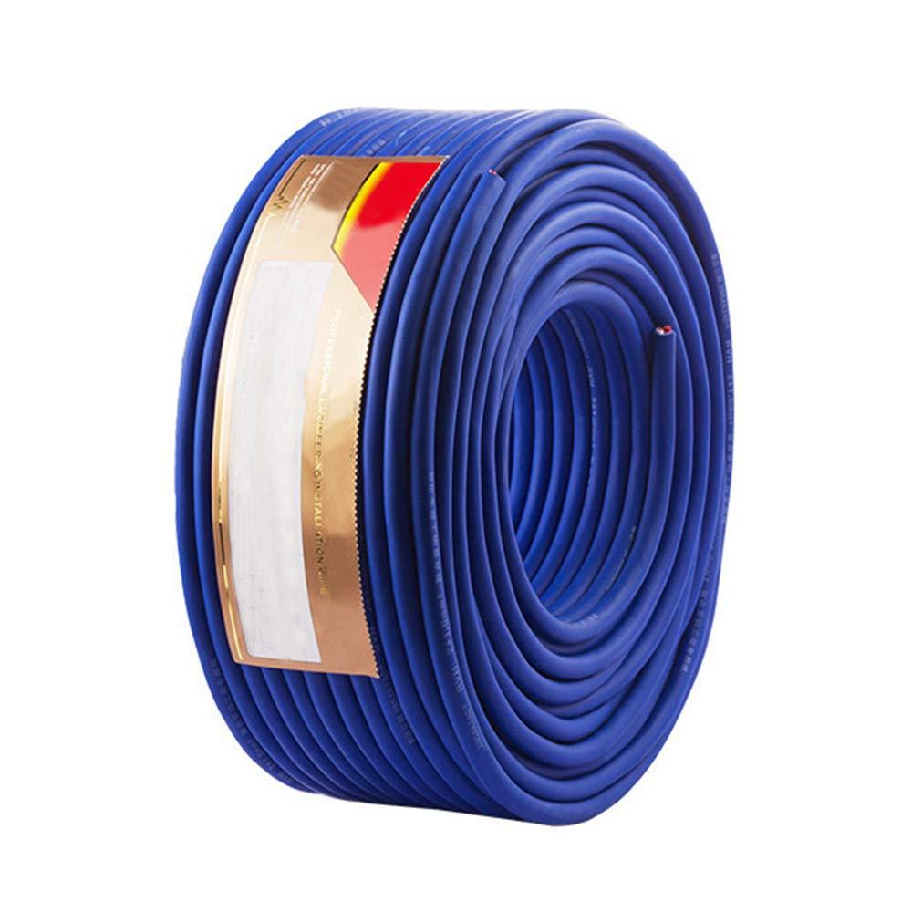 スピーカーケーブル スピーカーコード 防水スピーカーケーブル オーディオケーブル 屋外使用可 高純度OFC 2芯構造 (2芯構造(2×2.5平米), 30m) B07GT2QN97 30m 2芯構造(2×1.5平米) 2芯構造(2×1.5平米)|30m