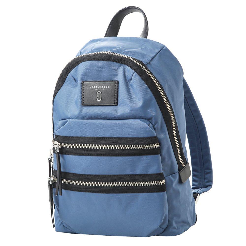 マークジェイコブス バッグ MARC JACOBS M0012700 476 NYLON BIKER バイカー BACKPACK レディース リュックバックパック 無地 VINTAGE BLUE 青 [並行輸入品] B079DJ95V4