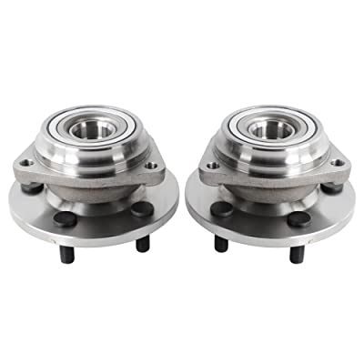 Fit For Jeep Grand Cherokee 1991-1999 New 2PCS Front Wheel Hub & Bearings Assembly Part 513084: Automotive