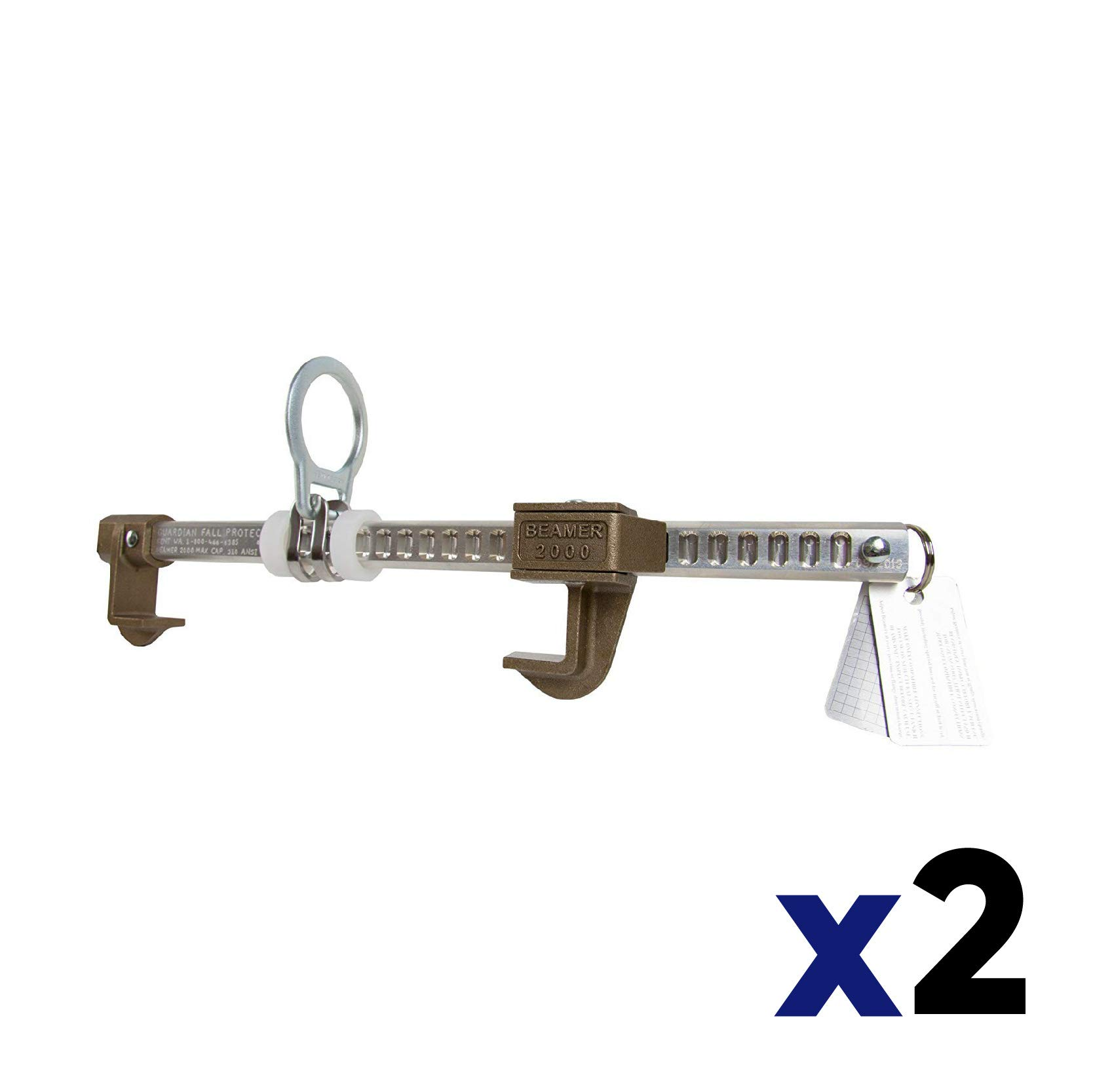 Guardian 00101 Beamer 2000 Fits 3 1/2-14'' Beams (2 Pack) by Guardian Fall Protection